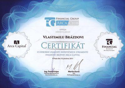 Certifikat-Arca-Capital-Brazda
